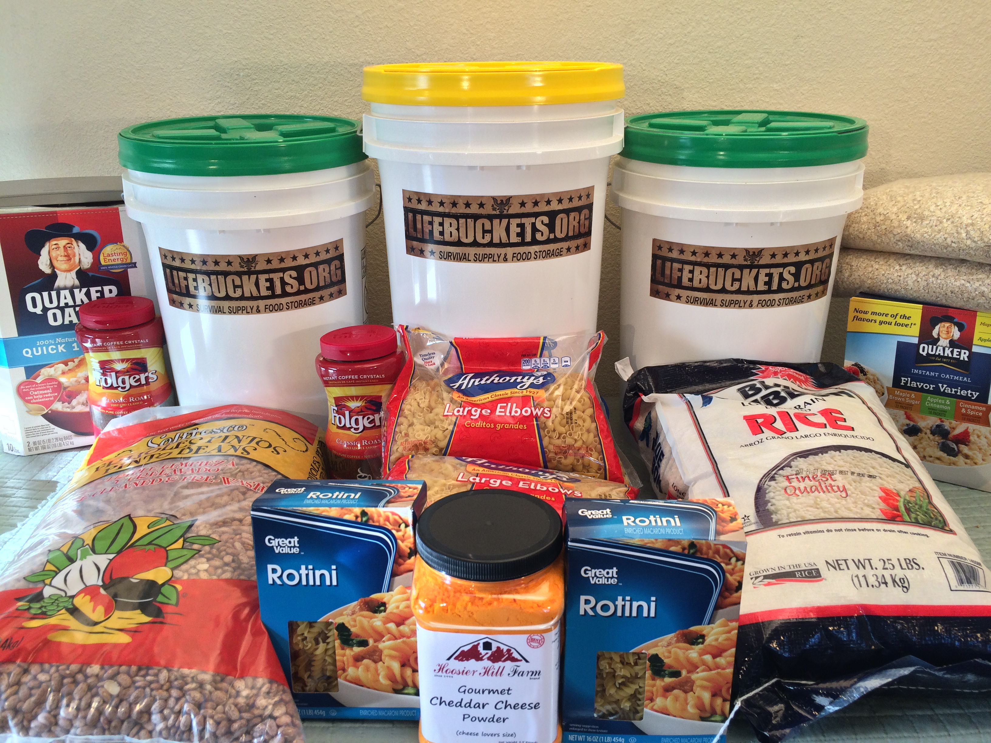 Life Buckets emergency food /supply storage is a San Diego based company that offers affordable quality long lasting foods with a 25 year shelf life. & LIFEBUCKETS u2013 Emergency Food Storage